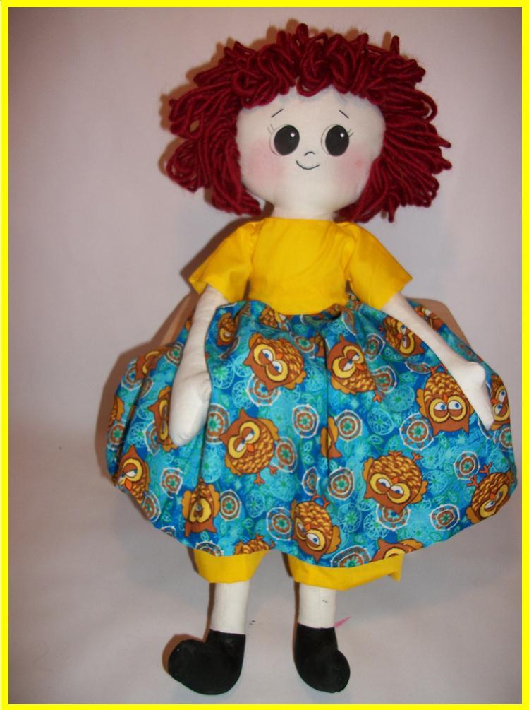 Emma Prim Rag Doll Pattern by Bits of Cloth by Bits of Cloth