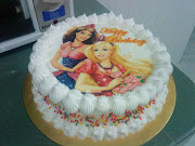 Barbie Birthday Cake