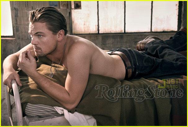 leonardo dicaprio young shirtless. Am i dreaming Leo?