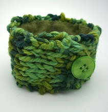 Shades of Green Cuff