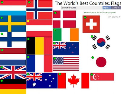 Chiew's ELL EFL ESL CLIL Online Games, Resources, Activities: World's Best Countries