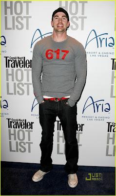 Chris Evans Hot Photo