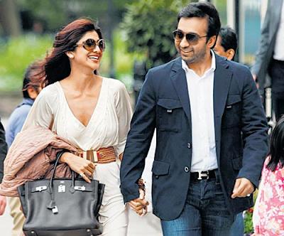 Shilpa And  Kundra  In Paris  For  Enjoying  Second  Honeymoon