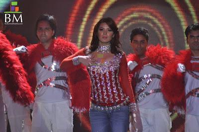 Urvashi Sharma latest Cleavage Night Show