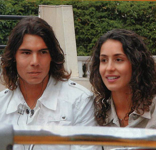 Rafael Nadal with Girlfriend Francesca Perello pictures