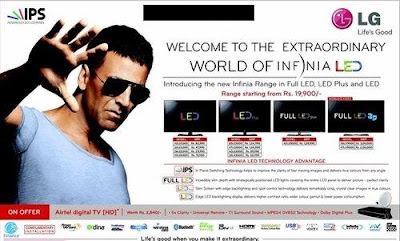 Akshay and John in Latest Lg and Haier Ads