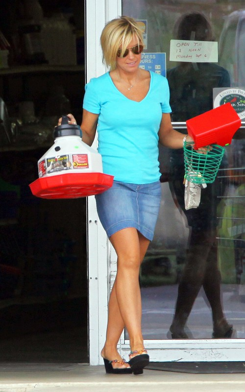 Kate Gosselin's Labor Day Weekend Fitness photo