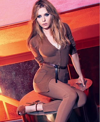 Scarlett Johansson new hot Mango ads photo