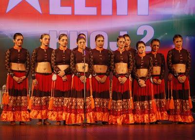 Bellydance,India got talent