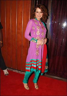 Bollywood hotties with Churidar-kurtas dress