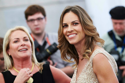 Hilary Swank and Pamela Roland at presentation Spring 2011 Pictures