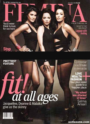 Giselli Monteiro On Femina Magazine Cover Issue (September 2010)