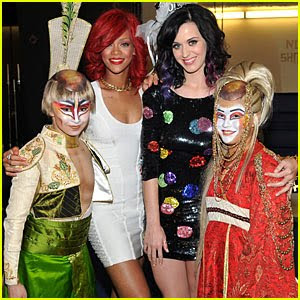 Katy Perry, u.s pop singer , Rihanna,  singer,model