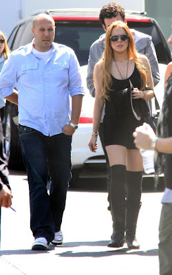 Lindsay Lohan,  American actress, pop singer and model