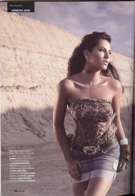 Barbara Mori GQ Magazine September 2010