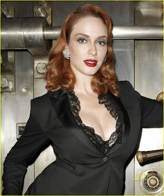 Christina Hendricks , hollywood celebrity
