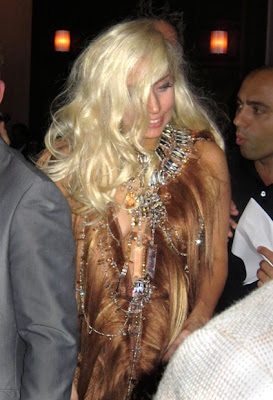 Lady Gaga out at The Oak Room Photos