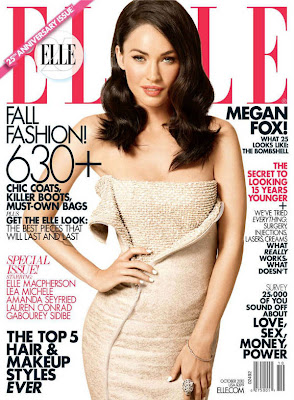 Megan Fox Elle Magazine October 2010