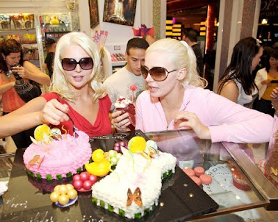 Shannon Twins Celebrate 21st Birthday at Sugar Factory