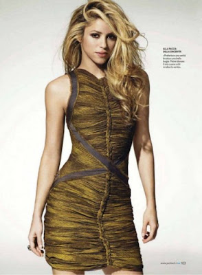 Shakira Jack Magazine Italy Pictures