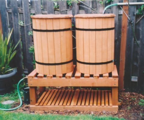 The Rainbarrel Man