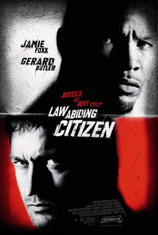 Law Abiding Citizen, Movie poster, Movie review