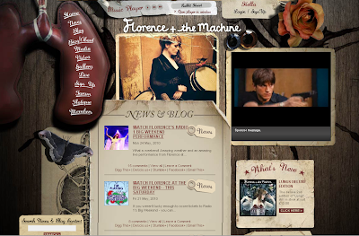 Florence and The Machine Official Website