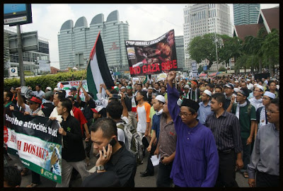Free Palestine Protesters