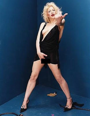 Courtney Love Crotch Grabbing Photo