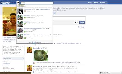 New Facebook Notifications