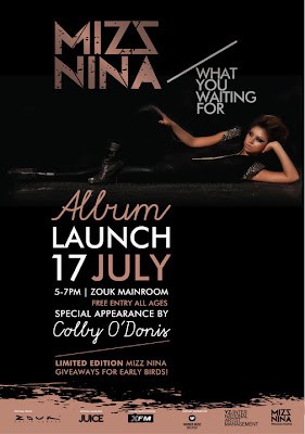 Mizz Nina What You Waiting For album launch
