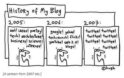 Twitter ruin Blogs