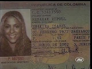 Quanto è alta Shakira?