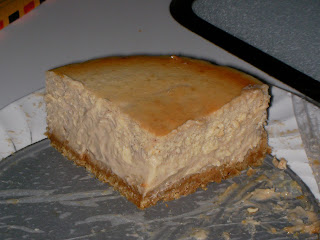 Princess of the kitchen: Nigella's Chestnut Cheesecake
