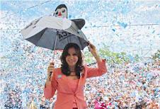 Fuerza Cristina !!!