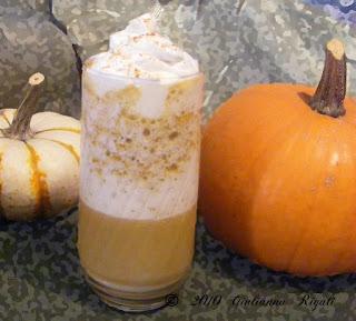 Pumpkin Pie Frappe, Frappio-Doppio, Frappuccino Recipe