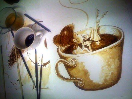 Museu Do Caf Pintando Com Caf