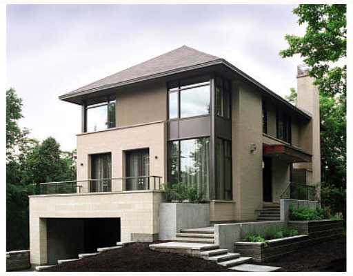 Move that bus e p connors house classic prairie for Modern house design ottawa