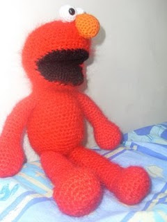Elmo Hat PDF Crochet Pattern by thesweetestboutique on Etsy
