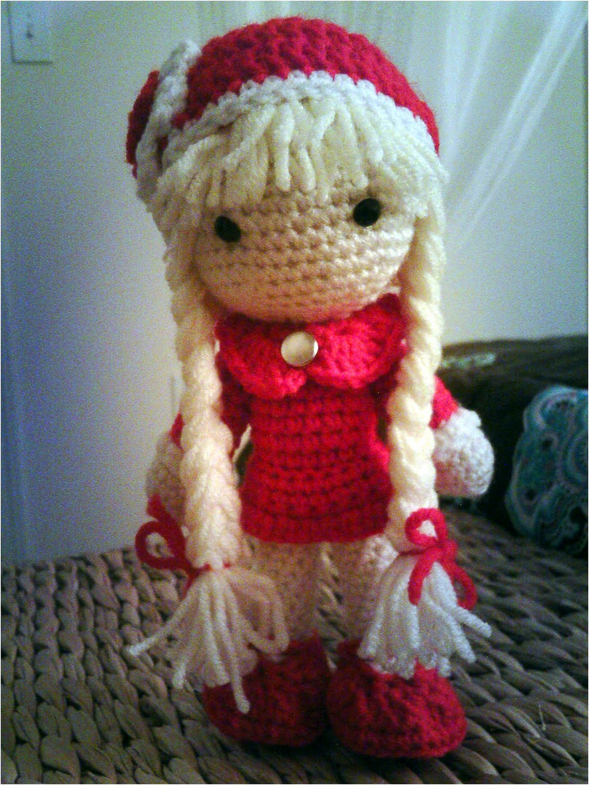 Crocheting Dolls : Crochet Doll Pattern Image