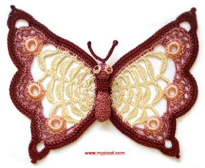 Free Crochet Patterns For Butterflies : Free Patterns for Beautiful Picot Crochet Curly Girls ...
