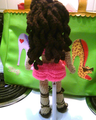 Amigurumi Curly Hair Tutorial : Curly Hair Tutorial Amigurumi Doll Curly Hair Tutorial Its ...