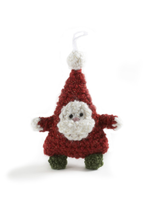 Free Crochet Christmas Ball Collar Pattern