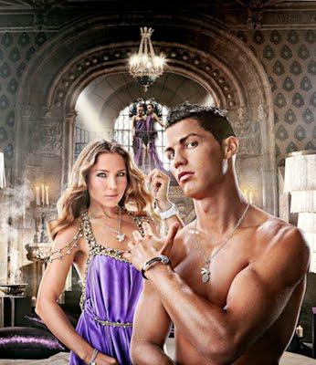 Cristiano Ronaldo y Elsa Pataky con Time Force
