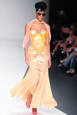 Maya Hansen desfile Madrid Fashion Week primavera verano 2011