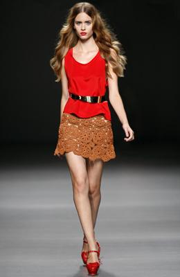 Teresa Helbig colección primavera verano Cibeles Madrid Fashion Week 2011