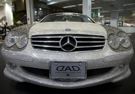 Mercedes de Swarovski