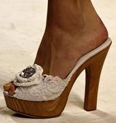 sandalia tacón Dolce & Gabbana