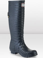 botas agua Hunter & Jimmy Choo