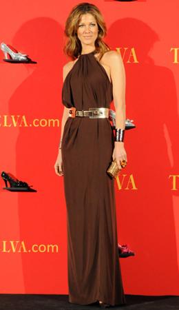 Vestidos de gala en la fiesta de los Premios Telva